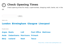 check-opening-times.co.uk