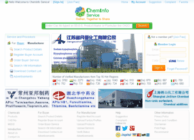 cheminfoservice.com