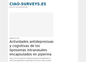 ciao-surveys.es