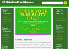 claimyourgrantmoney.com