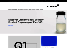 clariant.com