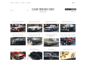 classic-mercedes-parts.com