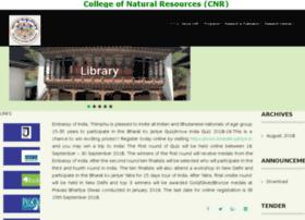 cnr.edu.bt