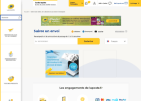 courrier-suivi-export.laposte.fr