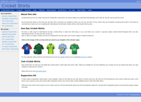 cricket-shirts.co.uk