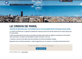 cridon-paris.fr