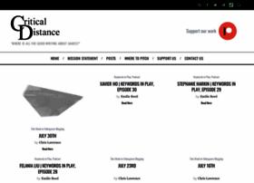 critical-distance.com