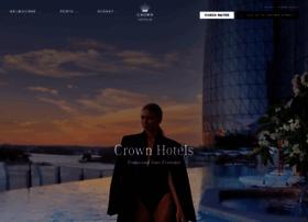 crownhotels.com.au