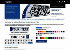 customeuropeanplates.com