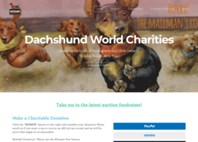 dachshundworldcharities.com