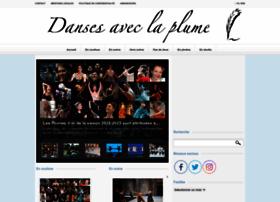 dansesaveclaplume.com