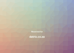 datrix.co.za