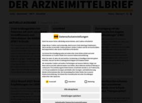 der-arzneimittelbrief.de