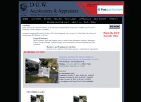 dgwauctioneers.com