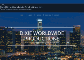 dixieworldwideproductions.com