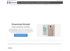 downloadalcatel.com