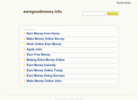 earngoodmoney.info