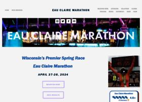eauclairemarathon.com