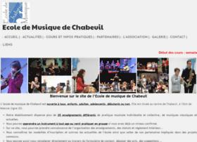 ecoledemusiquedechabeuil.fr