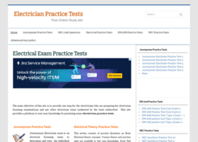 electricianpracticetests.com