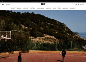 endclothing.com