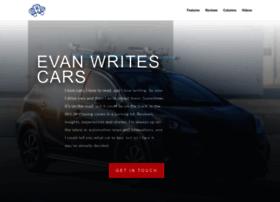 evanwritescars.com