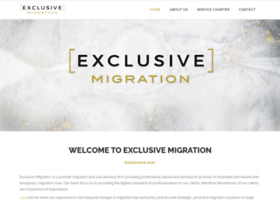 exclusivemigration.com.au