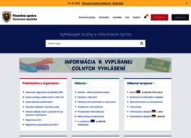 financnasprava.sk