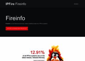 fireinfo.ipfire.org