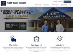 firstbankkansas.com