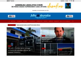 folhadedourados.com.br