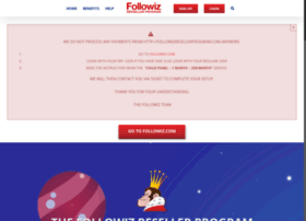followizresellerprogram.com