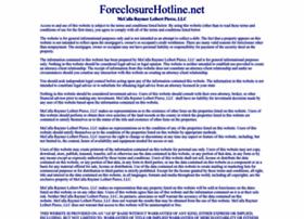 foreclosurehotline.net