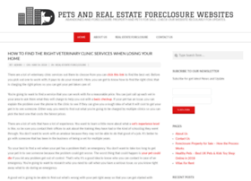 foreclosurepets.org