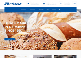 fortuna-bakery-equipment.de