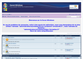 forum-windows7-windows8.fr