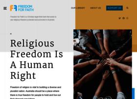 freedomforfaith.org.au