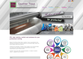 gauthier-tissus.com