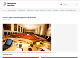 gemeentebestuur.haarlem.nl