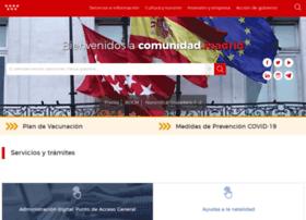 gestiona.madrid.org