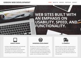 gibsonwebdevelopment.com