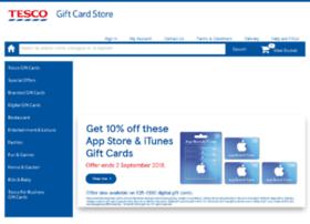 giftcards.tesco.com