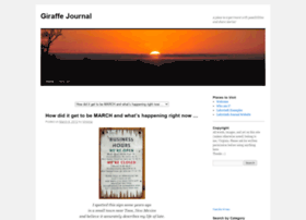 giraffejournal.com