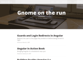 gnomeontherun.com