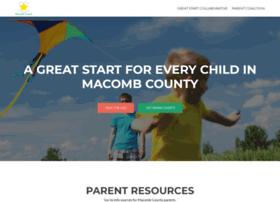 greatstartmacomb.org