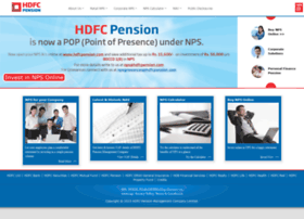 hdfcpension.com