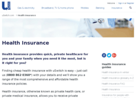 health-insurance.uswitch.com