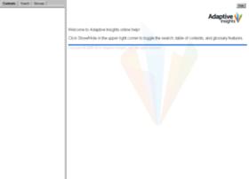 help.adaptiveplanning.com