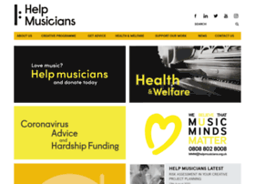 helpmusicians.org.uk