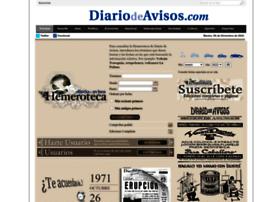 hemeroteca.diariodeavisos.com